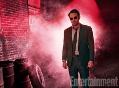 The Defenders, Charlie Cox (as Daredevil), photographed for Entertainment Weekly