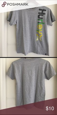 Hurley T- Shirt for boy Hurley T Shirt for boy Size M great condition No stains!!!! #AndresCloset Hurley Shirts & Tops Tees - Short Sleeve