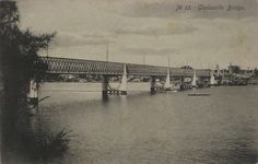 Old Gladesville Bridge, Parramatta River (opened in The image is from a postcard printed around 1900 . Old Pictures, Old Photos, Aboriginal History, Postcard Printing, Past, Bridge, Old Things, Australia, River