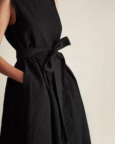 Cotton Linen Twill Dress