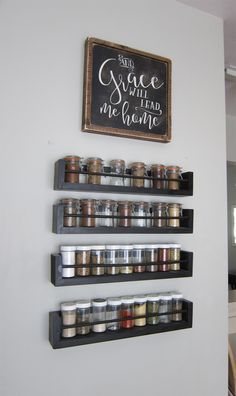 Spice Rack Wall Storage