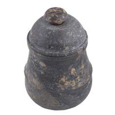 Jar with Lid Stoneware Dinnerware Tableware Storage Handmade by Artisan ShalinIndia,http://www.amazon.com/dp/B009OY6V88/ref=cm_sw_r_pi_dp_TxQktb0KGVY83VC6