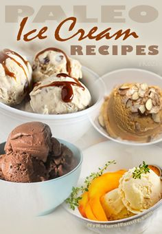 Paleo Ice Cream Recipes