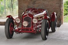Alfa Romeo 8C 2300 that was owned and raced by Tazio Nuvolari to victory at the 1933 Targa Florio and Monza Grand Prix