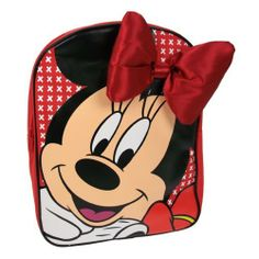 Minnie Mouse backpack with bow embellishment by Disney by an, http://www.amazon.co.uk/dp/B00EX9N95C/ref=cm_sw_r_pi_dp_4Xb4sb02TEVKY