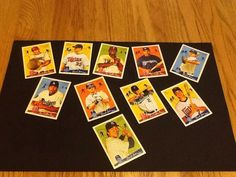 NEW LISTING 2008 Goudey Cards Lot Of 10 Various Players