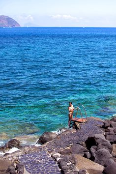 Into the Mediterranean blue… #Sicily #travel