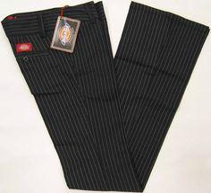 Image detail for -Dickies black pants, Dickies stretch ladies pants, Dickies black with ...