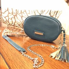 NWT Madden Girl Handbag. Gorgeous!! NWT Madden Girl Teal Handbag. Gorgeous bag with silver chain! Don't miss this one! #05-16 Madden Girl Bags