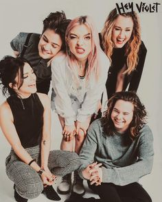 I'm so glad I learned about the adorable babies that are Hey Violet. They've come so far and I'm proud of what they've accomplished, and I'm proud to call myself a fan