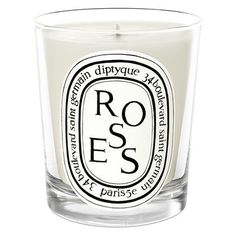 This floral and feminine candle evokes the soft scent of the world's most universally loved flower, the rose.