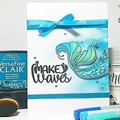 Spy 🕵️♀️ in action! This was made by KerryUrbatch! We are ready for summer! Posted @withregram • @stampinbugkerry I'm up on the JoyClair blog featuring a mermaid card and @imaginecrafts_  embossing powder and ink.  Check it out!  #cardmaking #stamping #handmadecards #mermaidcards #imaginecrafts #joyclairstamps @joyclairstamps Embossing Powder, Pigment Ink, Check It Out, Spy, Cardmaking, Stamping, Mermaid, Action, Summer
