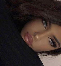 Beautiful Lips, Gorgeous Makeup, Beauty Makeup, Hair Makeup, Hair Beauty, Makeup Lipstick, Eye Makeup, Girl Face, Woman Face