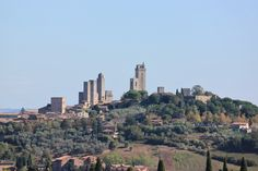 San Gimigiano - our favorite Tuscan city that we visited :)