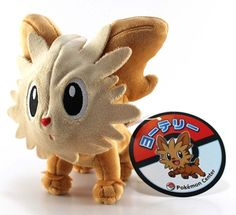 Pokemon Center Lillipup Yorkleff Ponchiot Plush Doll.with the bonus item From jp #PokemonCenter