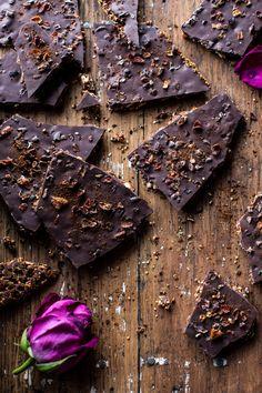 Superfood Chocolate Quinoa Bark | halfbakedharvest.com @hbharvest