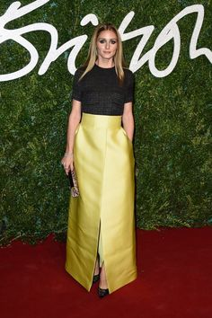 Pin for Later: The British Fashion Awards Red Carpet Was as Stylish as You'd Expect Olivia Palermo