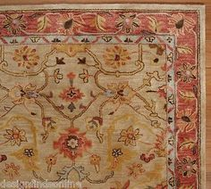 POTTERY-BARN-5-X-8-ELHAM-PERSIAN-STYLE-RUG-NEUTRAL-BRAND-NEW