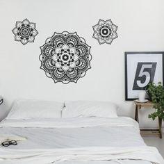 Vinilo Decorativo: Mandala Negro