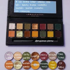 ANASTASIA BEVERLY HILLS 'SUBCULTURE' PALETTE DUPES Eyeshadow Dupes, Skincare Dupes, Beauty Dupes, Beauty Makeup, Colourpop Dupes, Beauty Products, Makeup Products, Eyebrow Products, Makeup Geek