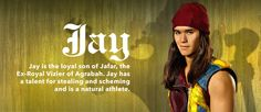 "Jafar's son, Jay, in ""Descendants"". READ IT: http://grown-up-disney-kid.tumblr.com/post/125721950254/a-few-thoughts-on-descendants"