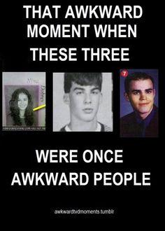 Hahaha!! Nina, Ian, and Paul! Wow!