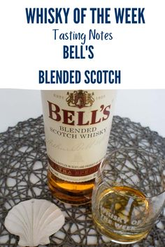 Review and Tasting notes for the Bell's Blended whisky Malt Whisky, Scotch Whisky, Blended Whisky, Whisky Tasting, Notes, Bottle, Single Malt Whisky, Report Cards, Scotch Whiskey
