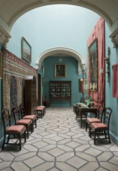 Lady Londonderry's colours | The Black and White Hall at Mount Stewart ©National Trust Images/John Hammond