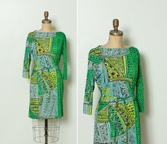 vintage 1960s Vera dress by StopTheClock on Etsy