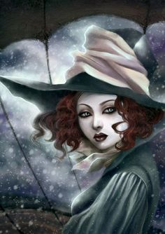 Magick Wicca Witch Witchcraft.  A Witch.