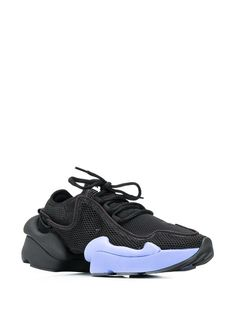 Low-top sneakers in Black Air Max Sneakers, High Top Sneakers, Sneakers Nike, Fashion Labels, Nike Air Max, Lace Up, Heels, Shopping, Black