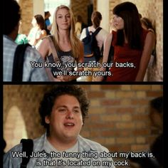 Please, superbad food penis quote hot Women