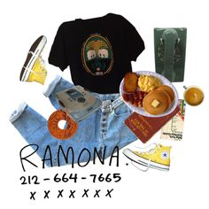 i heard ramona sing by kampow on Polyvore featuring Converse, WALL, indie, Punk, grunge, art and aesthetic