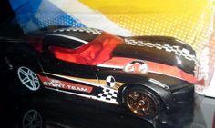 HOT WHEELS 2012 THRILL RACERS-CITY STUNT 2009 CORVETTE STINGRAY CONCEPT #HotWheels