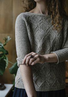 Knitting Patterns Sweaters Ravelry: Poet pattern by Sari Nordlund Mittens Pattern, Sweater Knitting Patterns, Lace Knitting, Knit Crochet, Ravelry, Seed Stitch, Lace Patterns, Yarn Crafts, Knitting Projects