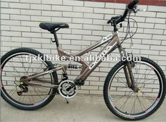 26 mountain bike 1.Hi-ten steel Frame2.Aluminum rim3.F R V Brake4.Saiguan F/R DERAILLEUR Please follow us @ https://www.pinterest.com/wocycling/