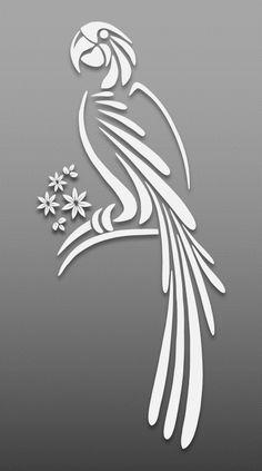 Bird – Cut Outs – Art & Islamic Graphics