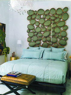 a very unique headboard | all about decor | pinterest