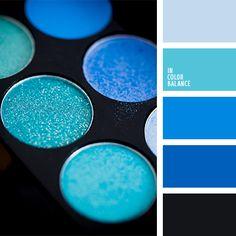 Monochrome Blue color inspiration Blue Colour Palette, Color Palate, Colour Schemes, Color Patterns, Color Combos, Blue Dream, Paleta Pantone, Photo Bleu, Color Harmony