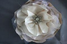 layered flower pin