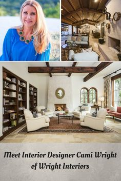 From our home state, Cami Wright is an interior designer from Austin, Texas, and you definitely need to check out her gorgeous designs! Austin Texas, Design Firms, Service Design, Cami, Interiors, Posts, Interior Design, Check, Blog