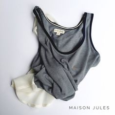 • maison jules top • in great condition. rayon & polyester blend. Maison Jules Tops