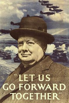 Winston Churchill - famously one of Britains most iconic Prime Ministers