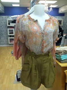 Love this hippie blouse from Sara Benjamin's in Mariemont