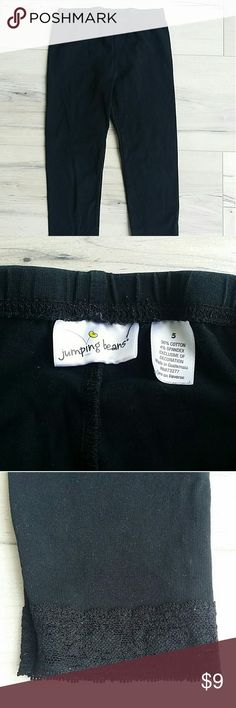 uk availability 27d8c 731e7 Jumping Beans Girl Lace Leggings Size 5 Jumping Beans girls leggings. Size  5. Leggings