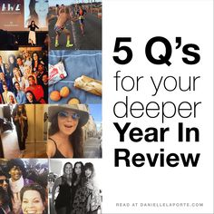 5 Q's for your deeper Year In Review (from one of my favorite teachers)