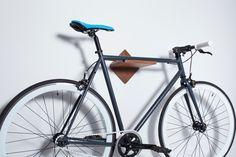 Vélo vélo étagère support mural / Burnside / par LomaLiving