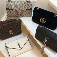 Louis Vuitton, Gucci, YSL handbags #Designerhandbags