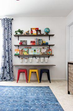 Big Boy Bedrooms, Boys Bedroom Decor, Toddler Boy Room Decor, Diy Boy Room, Boys Playroom Ideas, Ikea Toddler Room, Teen Playroom, Blue Playroom, Little Boy Bedroom Ideas