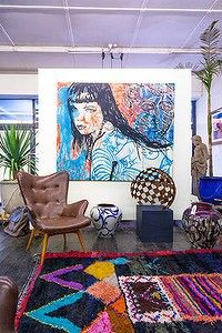 Artist David Bromley has rethought the idea of a gallery space with a concept that embraces a more realistic interpretation of the creative process. Studio Interior, Home Interior Design, David Bromley, Open Art, Australian Art, Decoration, House Colors, Art Inspo, Picture Frames